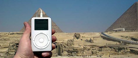 Photo of the week: iPod in Egypt