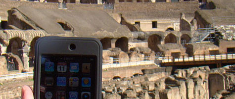 Photo of the Week: iPod touch in Rome