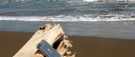 Photo of the Week: iPod touch in Costa Rica