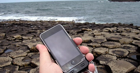 Photo of the Week: iPod touch in Northern Ireland