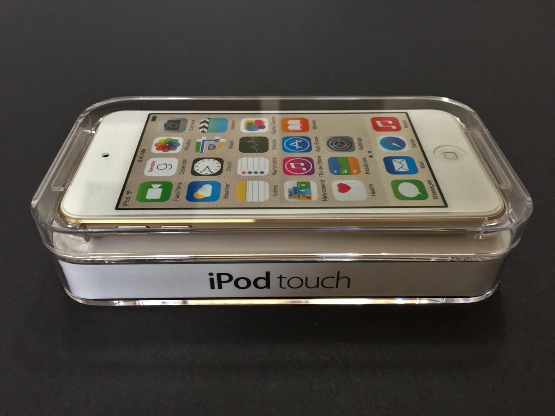 iPod touch 6G: Unboxing + comparison photos