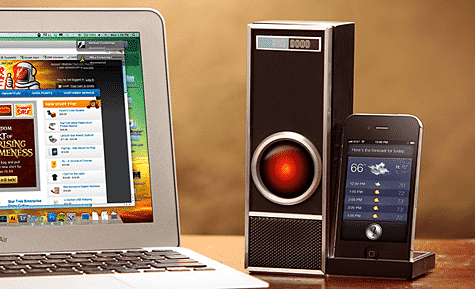 ThinkGeek intros IRIS 9000 voice control dock for iPhone