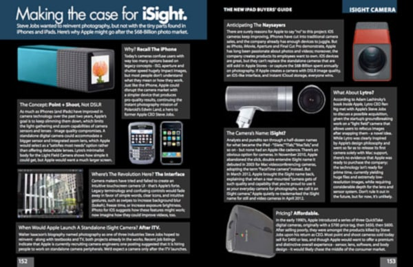 On The Possibility Of An Apple Standalone Camera