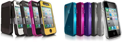iSkin intros solo, revo4 cases for iPhone 4