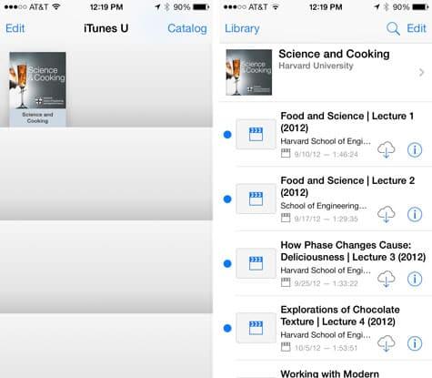 Apple updates iBooks, iTunes U for iOS 7