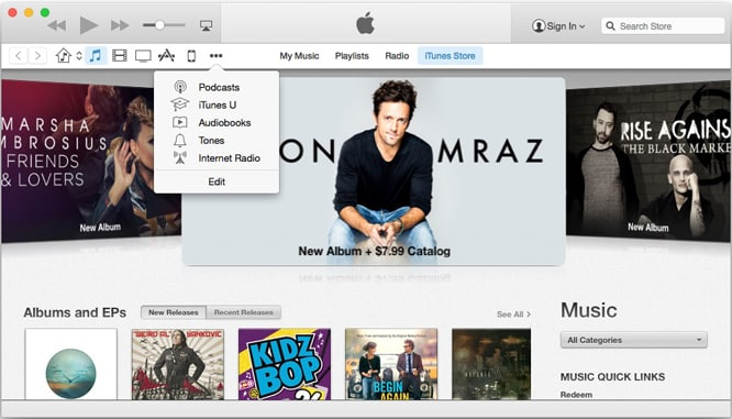 iTunes 12 makes its first appearance with iOS-style design