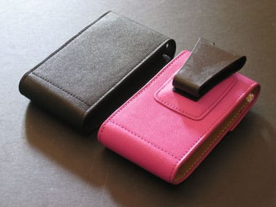 Review: Kroo Laguna Leather Cases for iPod mini