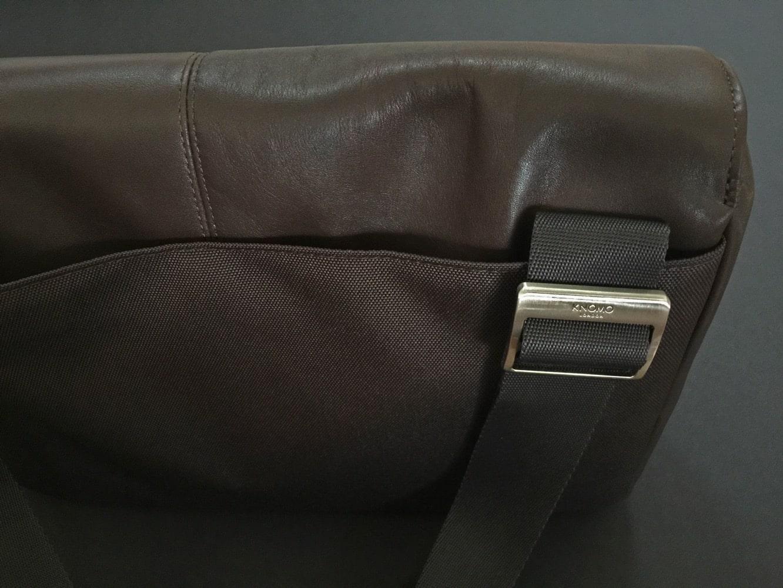 Knomo Kinsale Soft Leather Messenger Bag