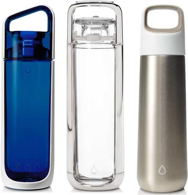 Kor Delta, One + Vida Hydration Vessels