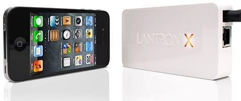 Lantronix unveils xPrintServer for iOS devices