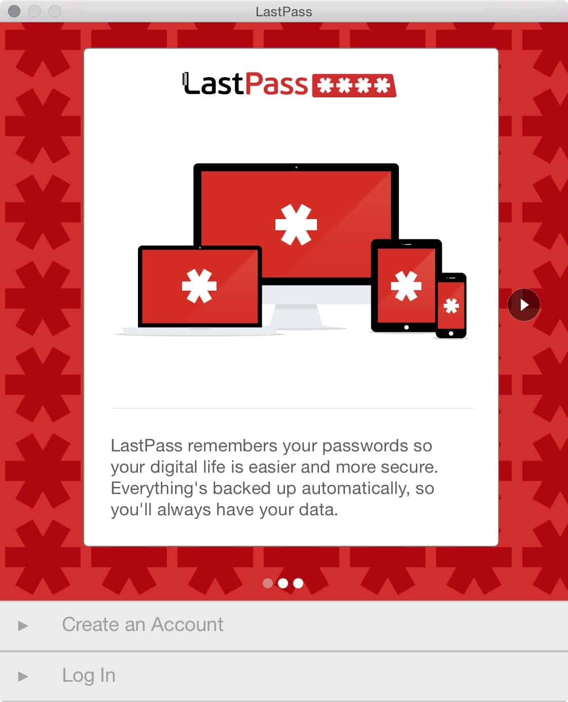 LastPass for Mac