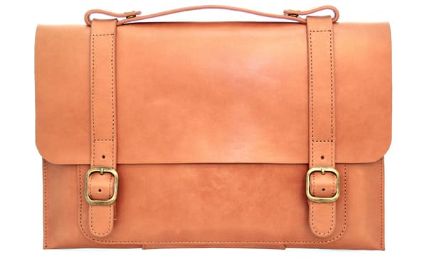 Fabrix Leather Satchel