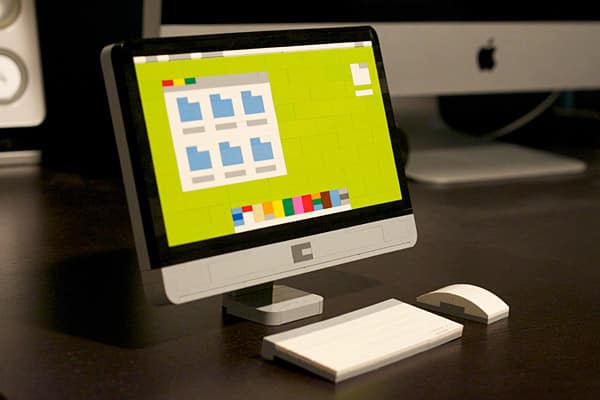 Chris McVeigh Lego iMac