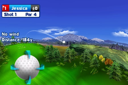 Gameloft shows multiplayer Let's Golf for iPhone, iPod touch