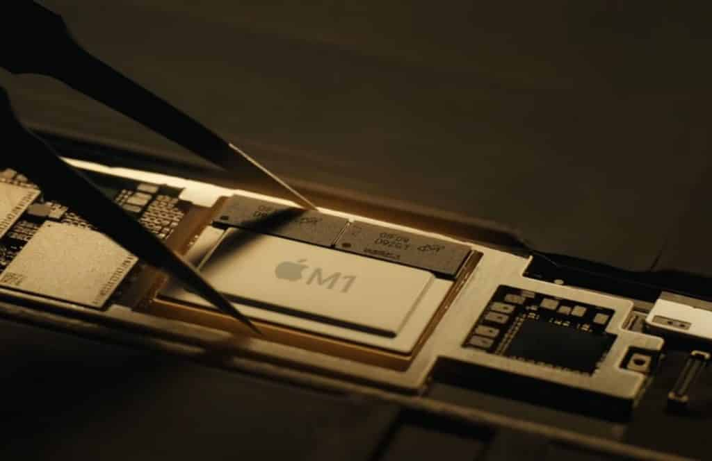 M1 chip in iPad Pro