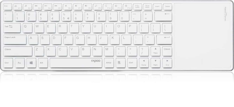 Rapoo E6700 Bluetooth Touch Keyboard