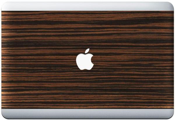 Raw MacBook Wood Skin