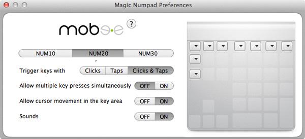 Mobee Technology The Magic Numpad
