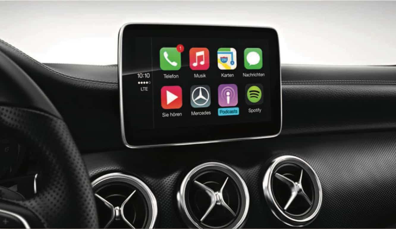 Leaked document reveals Mercedes' CarPlay plans