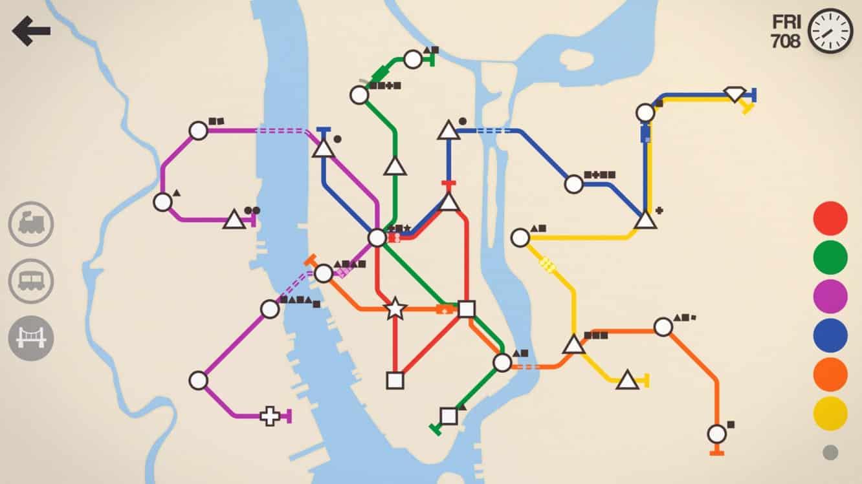 Mini Metro adds Endless Mode