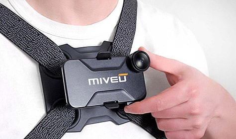 Miveu-X iPhone case and chest mount now available
