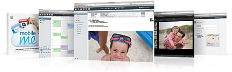 Apple announces MobileMe, offers push email, contacts, calendars