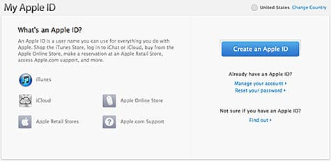 Changing your Apple ID email address