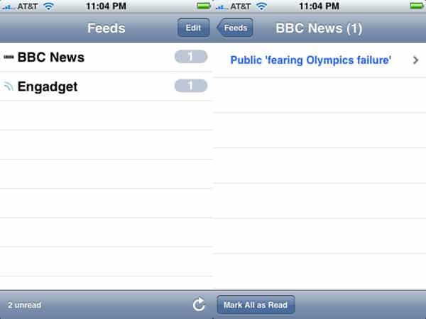Review: NetNewsWire by NewsGator Technologies
