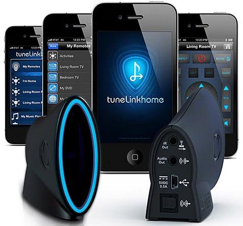 New Potato debuts TuneLink Home music streamer, remote for iOS