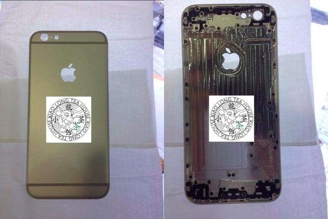 New photos of alleged iPhone 6 rear shell surface