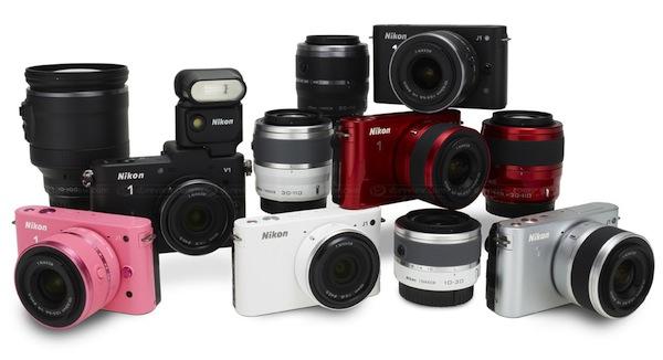 Nikon J1 and V1 Mirrorless Cameras