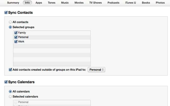 OS X 10.9.3 update re-adds USB contact and calendar syncing to iOS