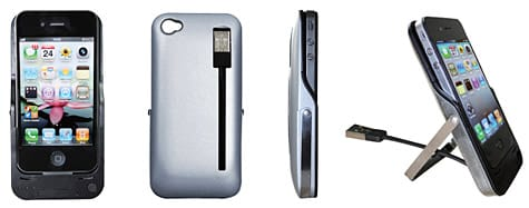 Oyama intros Protect, Power + Sync case for iPhone 4