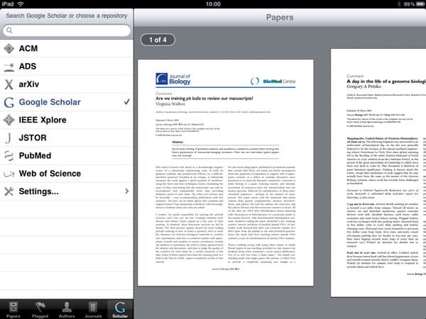 iPad Gems: Evernote, Papers, Instapaper Pro, OmniGraphSketcher, Penultimate + Art Authority