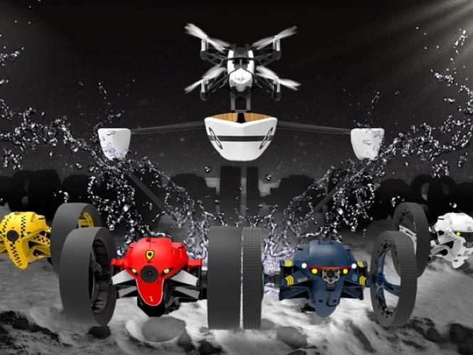 Parrot announces 13 new Minidrones