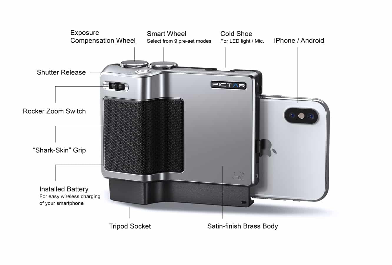 Miggo launches Pictar Pro advanced iPhone camera grip