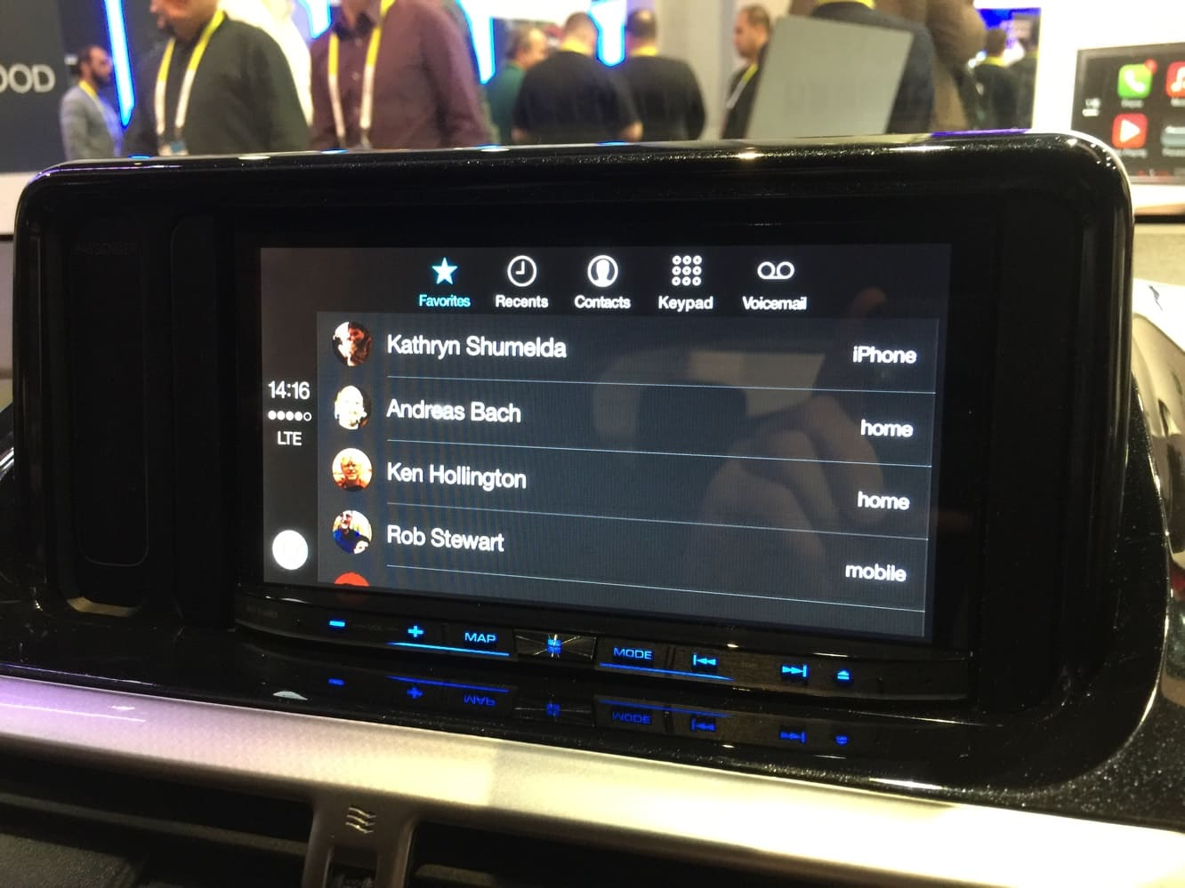 Hands-on with CarPlay at CES 2015
