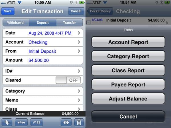 Review: Catamount Software PocketMoney