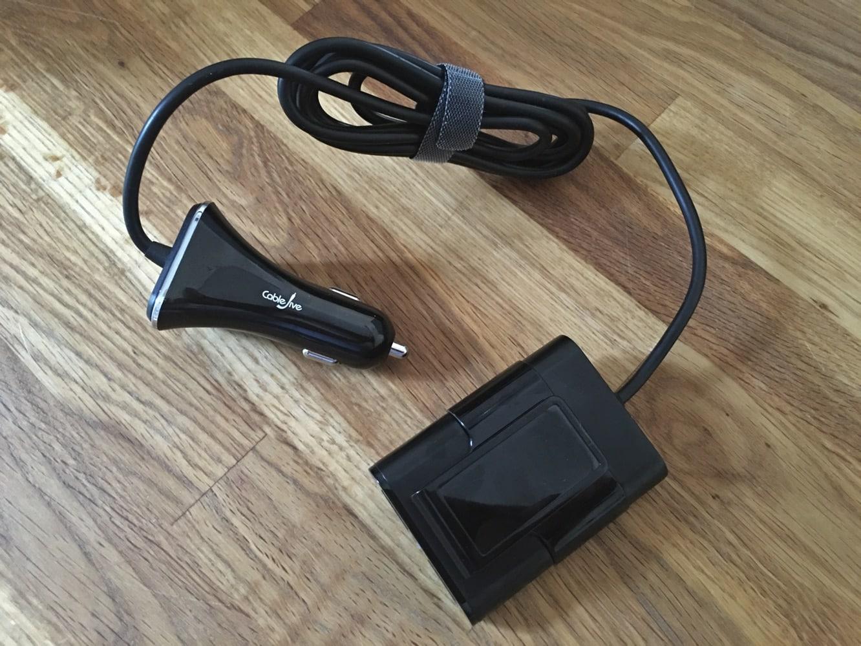 CableJive PowerPortz Car Charger