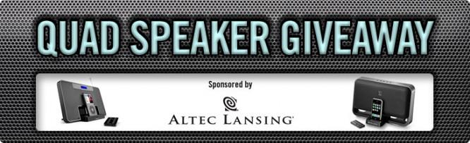 Quad Speaker Giveaway – Winners Announced
