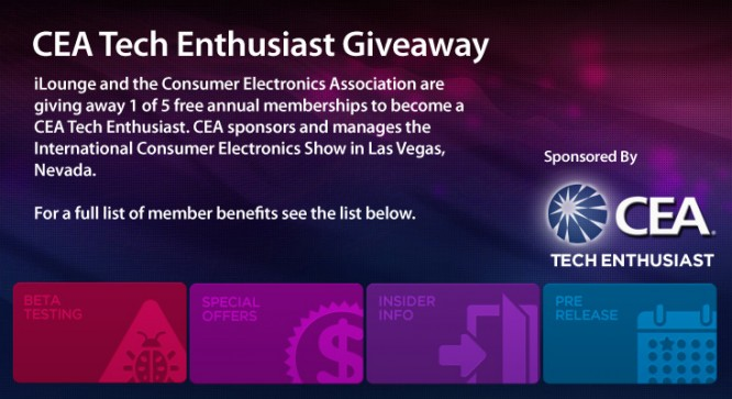 CEA Tech Enthusiast Giveaway – Winners Announced