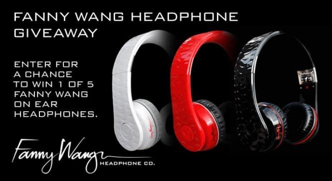 Fanny Wang Headphone Giveaway – Winners Announced
