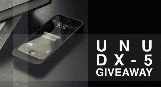 Unu DX-5 Battery Case Giveaway - Winners Announced