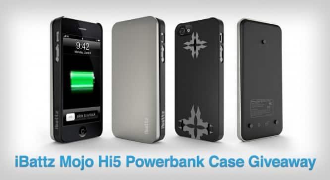 iBattz Mojo Hi5 Powerbank Case Giveaway – Winners Announced
