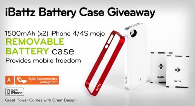iBattz Battery Case Giveaway – Winners Announced