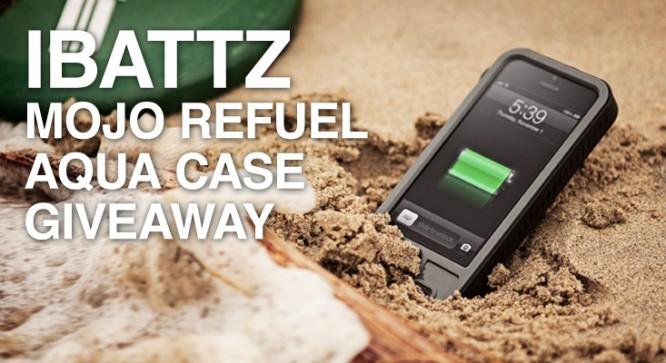 iBattz Mojo Refuel Aqua Case Giveaway – Winners Announced