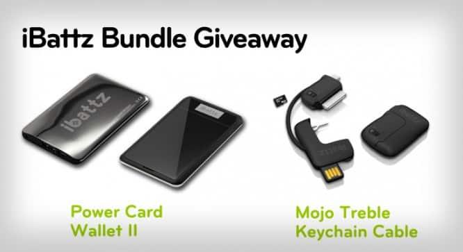 iBattz Bundle Giveaway – Winners Announced
