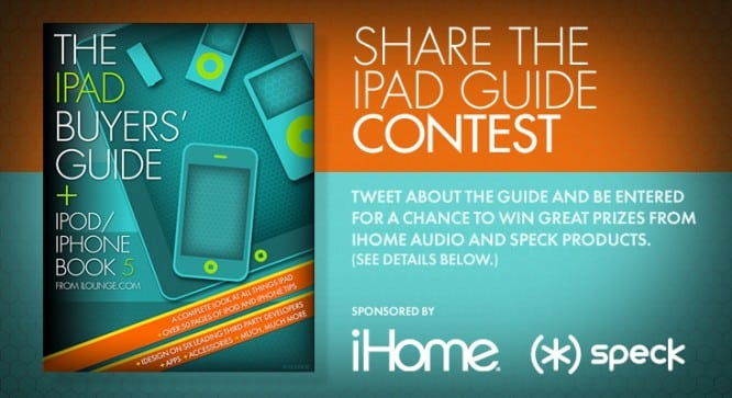 Share the iPad Guide Contest – Winners Announced