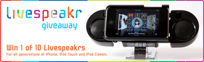Livespeakr Giveaway – Winners Announced