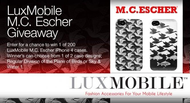 LuxMobile M.C. Escher Giveaway – Winners Announced
